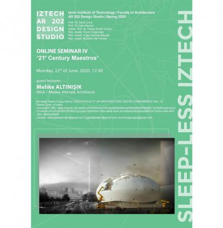 IZTECH Online Seminar '21st Century Maestros'