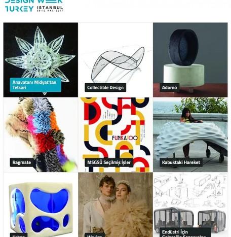 Design Week Turkey i Istanbul 17'