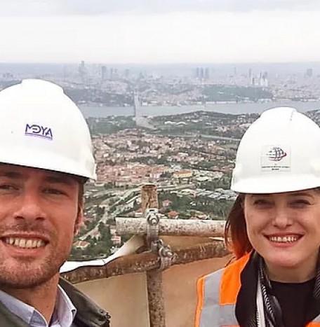 Istanbul Camlıca TV & Radio Tower - Site Visit