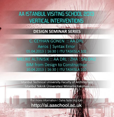 AA Istanbul Visiting School 2013