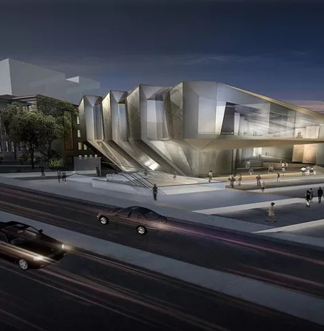 Winner of 1st Mention for Istanbul Beyoglu Theatre Design Competition